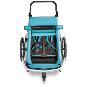Croozer Zonbescherming voor Kid Plus for 2 turquoise